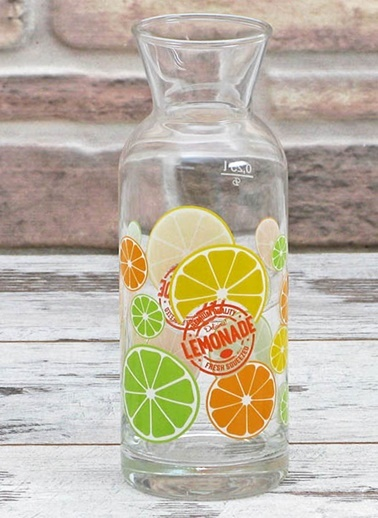 Limon Desenli Karaf-Joy Glass
